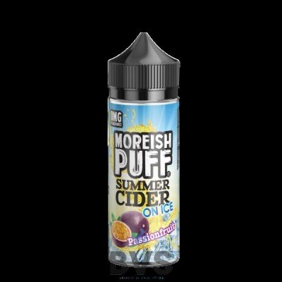 PASSIONFRUIT SUMMER CIDER ON ICE 100ML SHORT FILL  BY MOREISH PUFF
