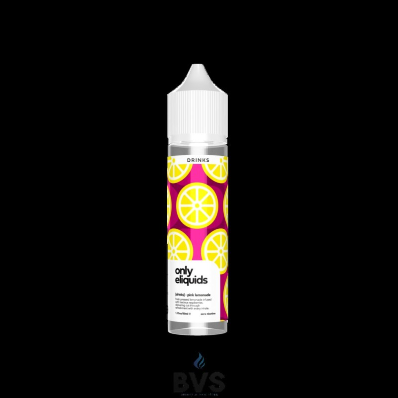 PINK LEMONADE SHORTFILL E-LIQUID BY ONLY ELIQUIDS DRINKS 50ML