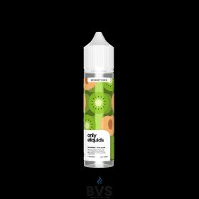 KIWI PEACH SHORTFILL E-LIQUID BY ONLY ELIQUIDS SMOOTHIES 50ML