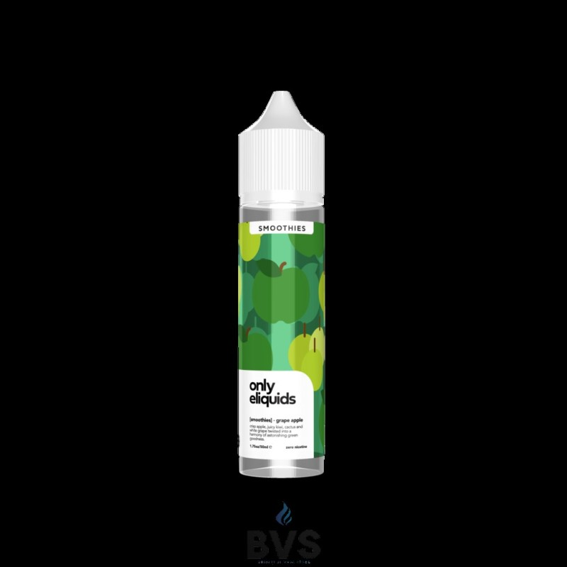 GRAPE APPLE SHORTFILL BY ONLY ELIQUIDS SMOOTHIES 50ML