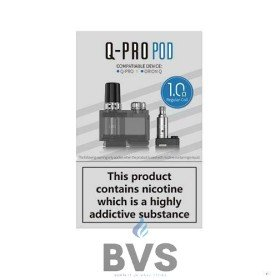 LOST VAPE Q- PRO POD (1PCS) + 1.0OHM REGULAR COIL