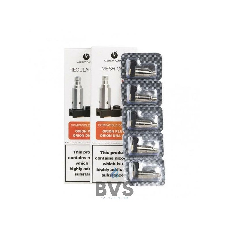 LOST VAPE ORION PLUS COIL 5 PACK