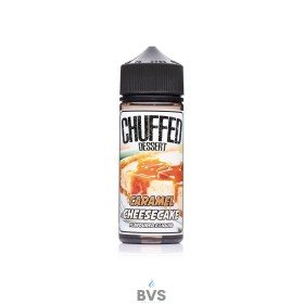 Chuffed Caramel Cheese Cake Eliquid 100ml