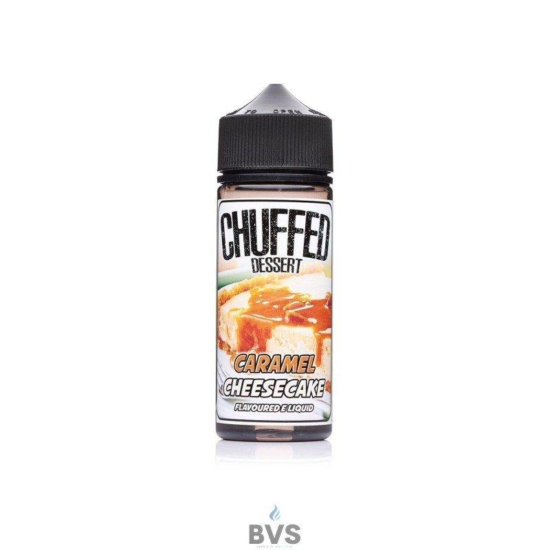 Chuffed Caramel Cheese Cake Eliquid 100ml