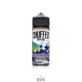 Blackcurrant Menthol E-liquid by Chuffed 100ml