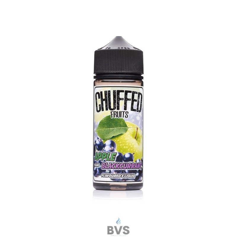 Apple and Blackcurrant E-liquid by Chuffed 100ml