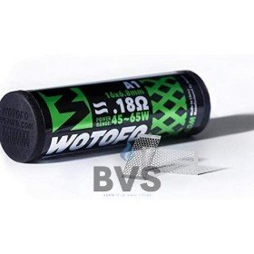 WOTOFO MESH STYLE COIL 6.8MM - 0.18OHM 10 PACK