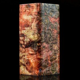Vaperz Cloud Hammer of God V3 Para-Series Mechanical Mod Quad 18650 STAB WOOD EDITION