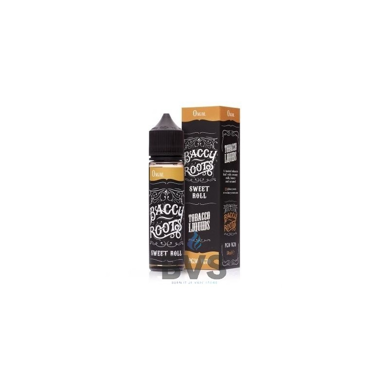 SWEET ROLL SHORTFILL BY BACCY ROOTS 50ML