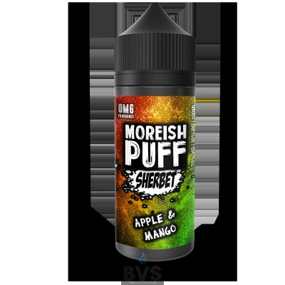 APPLE & MANGO | SHERBET BY ULTIMATE PUFF E LIQUID | 100ML SHORT FILL