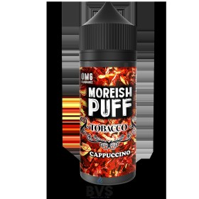 MOREISH PUFF CAPPUCCINO TOBACCO ELIQUID 100ML SHORTFILL