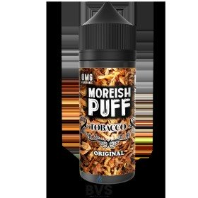 ORIGINAL TOBACCO BY MOREISH PUFF E LIQUID | 100ML SHORT FILL