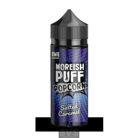 SALTED CARAMEL POPCORN BY MOREISH PUFF E LIQUID | 100ML SHORT FILL