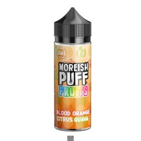 BLOOD ORANGE CITRUS GUAVA | FRUITS BY MOREISH PUFF E LIQUID | 100ML SHORT FILL