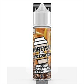 SALTED CARAMEL MACCHIATO BY MOREISH BREWED E LIQUID | 100ML SHORT FILL