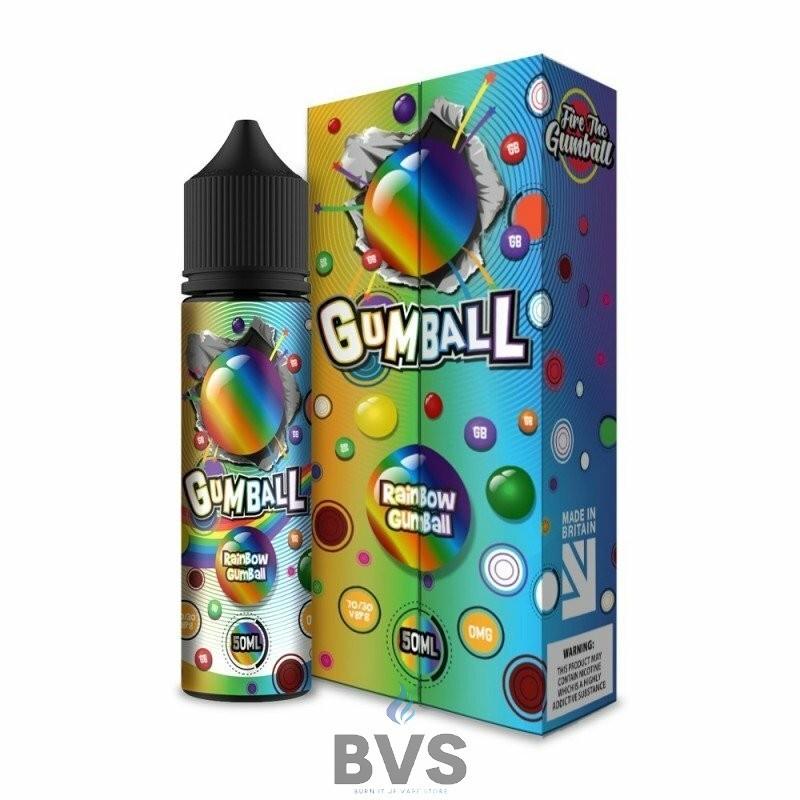 SLUSHIE GUMBALL RAINBOW GUMBALL 50ML SHORTFILL