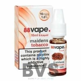 MAIDENS TOBACCO E-LIQUID BY 88VAPE