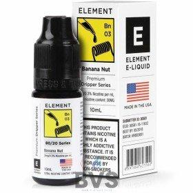 Element Dripper, Emulsion & Tobacconist Series 80/20 10ml