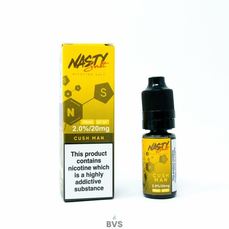 CUSH MAN ELIQUID by NASTY SALTS