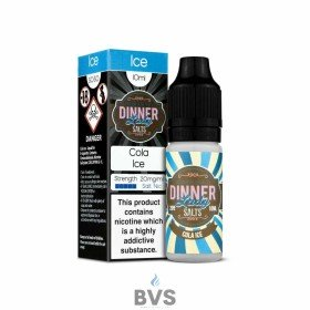 COLA ICE NIC SALT ELIQUID by DINNER LADY
