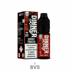 CHERRY TOBACCO ELIQUID by DINNER LADY 50/50