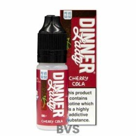 CHERRY COLA ELIQUID by SUMMER HOLIDAYS & Dinner Lady 50/50