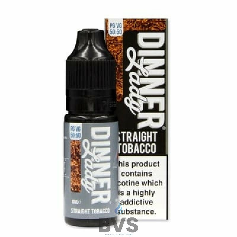 STRAIGHT TOBACCO ELIQUID BY 1111 DINNER LADY 50/50