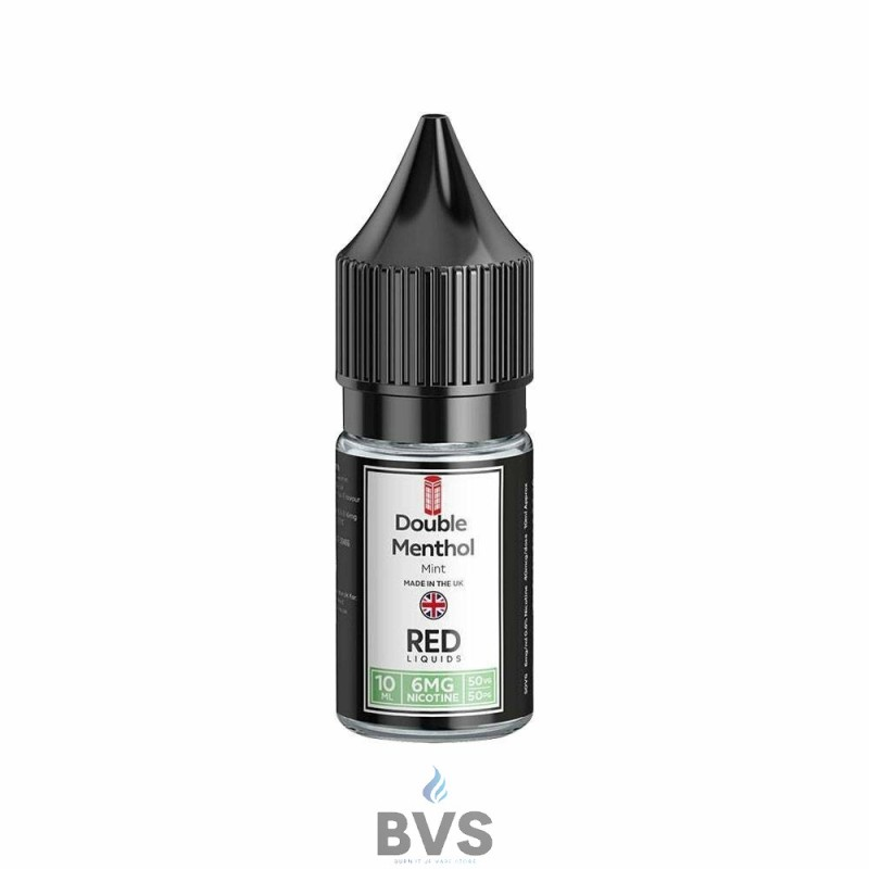 DOUBLE MENTHOL ELIQUID by RED LIQUID 50/50