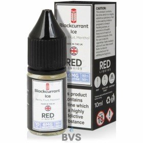 BLACKCURRANT ICE E-LIQUID BY RED LIQUID 50/50