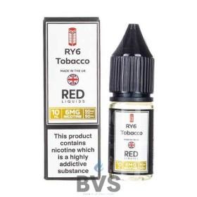 RY6 TOBACCO E-LIQUID BY RED LIQUID 50/50