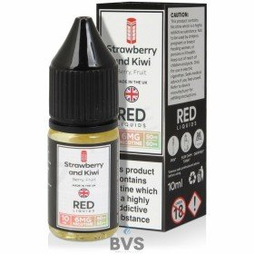 STRAWBERRY AND KIWI E-LIQUID BY RED LIQUID 50/50