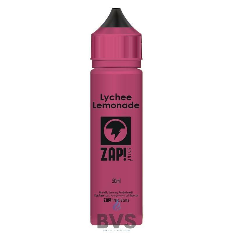 Lychee Lemonade by Zap eLiquid 50ml Short Fill