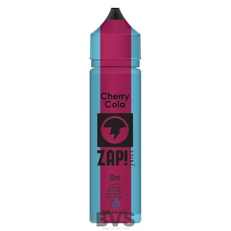 Cherry Cola by Zap Juice eLiquid 50ml Short Fill