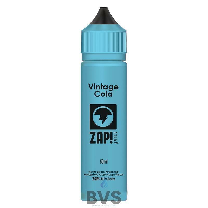 Vintage Cola by Zap E Liquid 50ml Short Fill