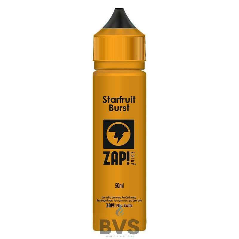 Starfruit Burst by Zap eLiquid 50ml Short Fill