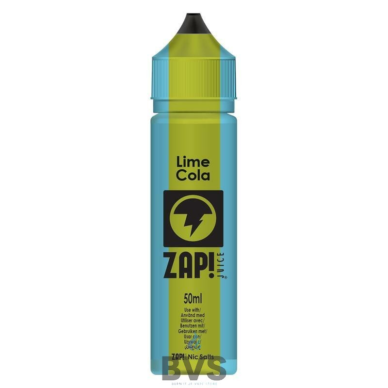 Lime Cola by Zap eLiquid  50ml Short Fill