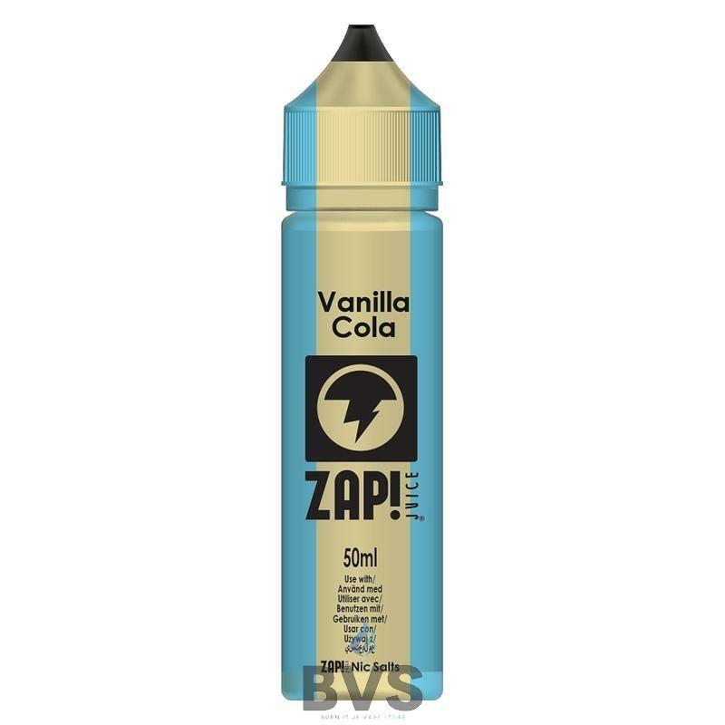 Vanilla Cola by Zap eLiquid 50ml Short Fill