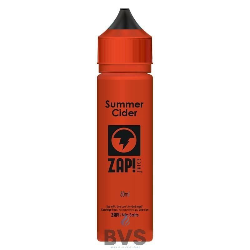Summer Cider by Zap eLiquid  50ml Short Fill