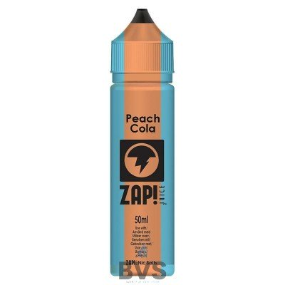 Peach Cola by Zap eLiquid 50ml Short Fill