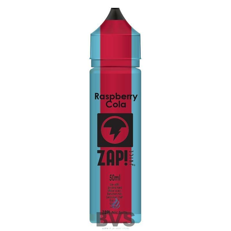 Raspberry Cola by Zap eLiquid 50ml Short Fill