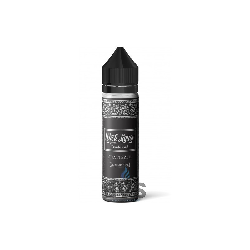 BOULEVARD SHATTERED BIG BLOCK  by Wick Liquor 50ml