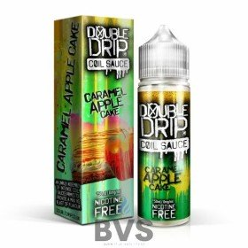 DOUBLE DRIP CARAMEL APPLE CAKE ELIQUID 50ML