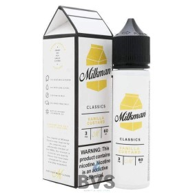 VANILLA CUSTARD SHORTFILL E-LIQUID BY THE MILKMAN 50ML