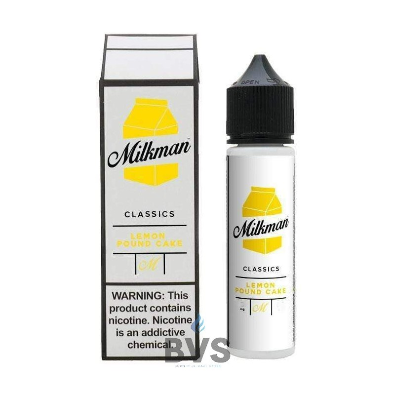 LEMON POUND CAKE 50ML SHORTFILL BY THE MILKMAN