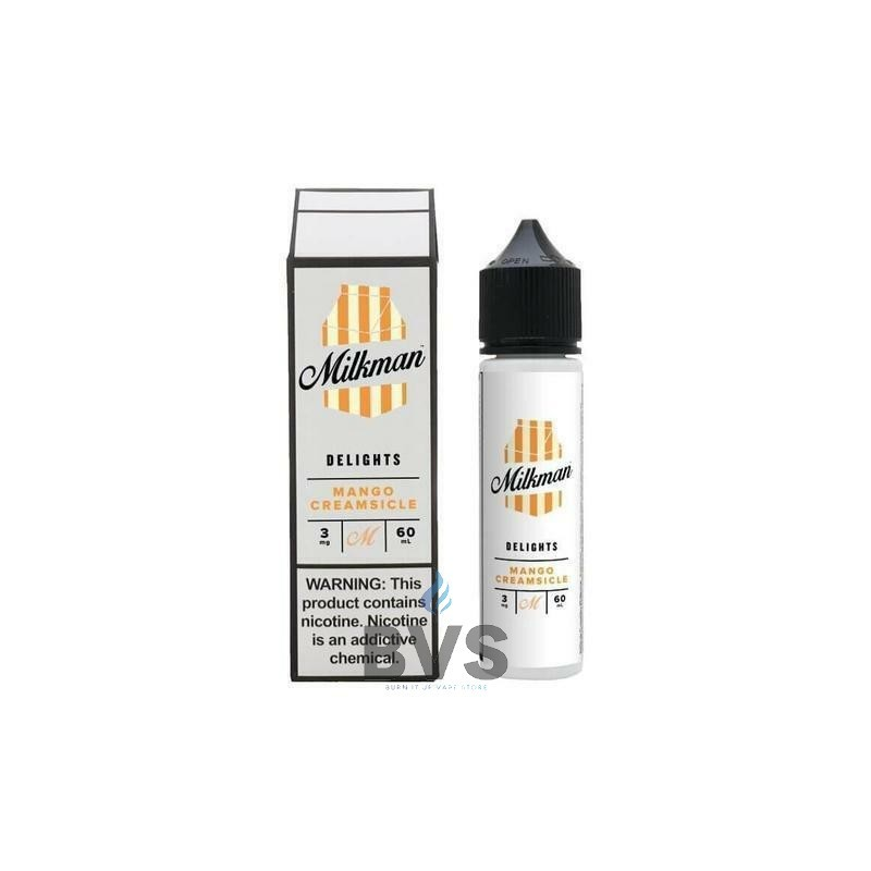 MANGO CREAMSICLE 50ML SHORTFILL BY THE MILKMAN DELIGHTS