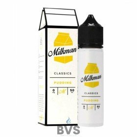 PUDDING SHORTFILL E-LIQUID BY THE MILKMAN 50ML