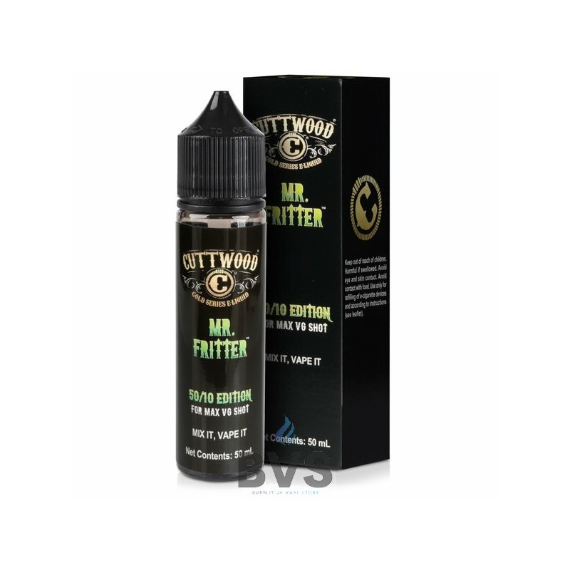 MR FRITTER 50ML SHORTFILL BY CUTTWOOD