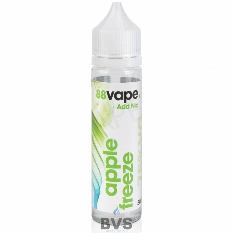 APPLE FREEZE SHORTFILL E-LIQUID BY 88VAPE 50ML