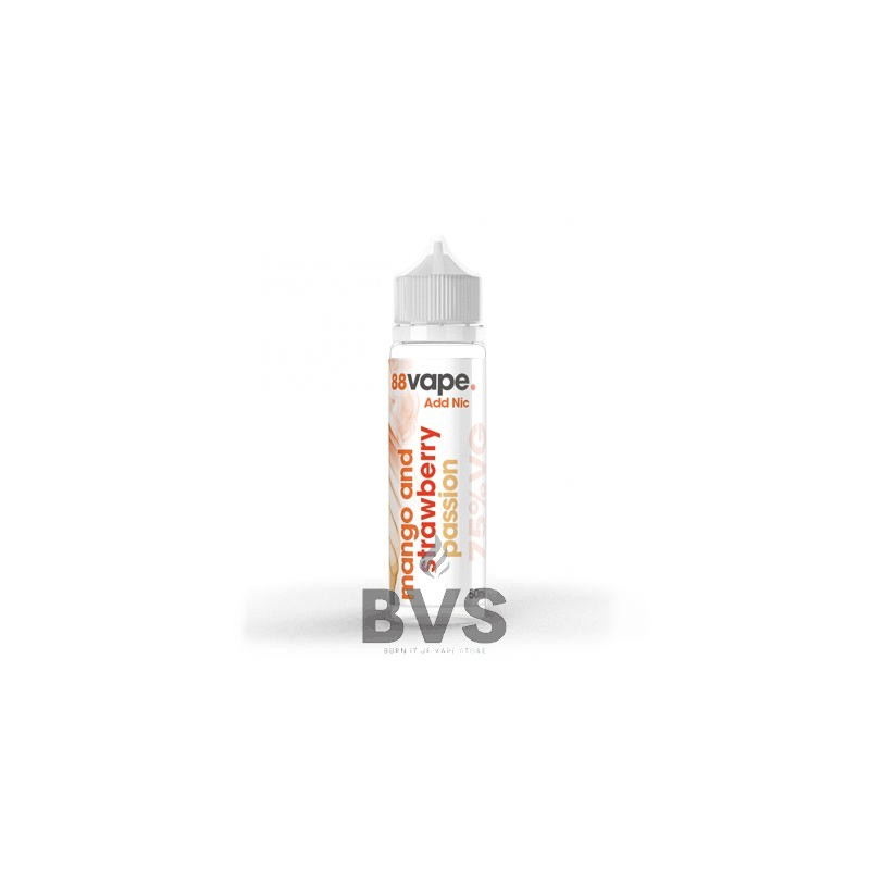 MANGO & STRAWBERRY PASSION SHORTFILL E-LIQUID BY 88VAPE 50ML