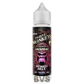 HARAMBAE SHORTFILL E-LIQUID BY TWELVE MONKEYS 50ML
